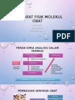 SIFAT-SIFAT FISIK molekul obat.pptx