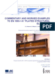 Commentary and Worked Examples to EN1993!1!5 Plated Structural Elements