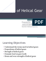 Design of Helical Gears