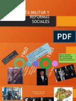 JUNTA MILITAR Y REFORMAS SOCIALES