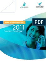 Israeli Mobile Solutions Catalog 2011
