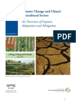 Climate Change and Chinas Agricultural Sector