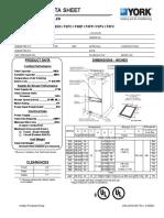 Dimensiones UMA  Ducto 12  MBH - 60 MBH