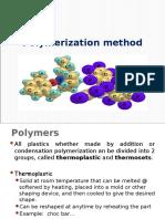 Chapter  Polymerisation method.ppt