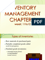 CH 5 Inventory  EOQ