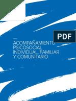 Acompañamiento psicosocial individual, familiar y comunitario