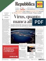 Rassegna stampa del 20 aprile 2020 lunedì, prime pagine