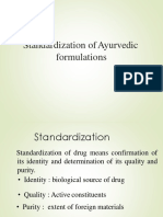 3-standardardization of Ayurvedic formulation