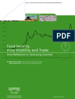 Food Security Price Volatility and Trade