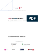Studie Digitale Gesellschaft 2010 Highlights