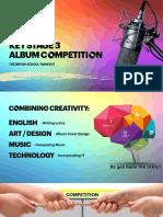 KS3 Album Competition