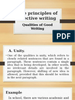 The Principles of Effective Writing
