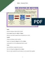 matter summary