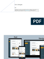 Handling configuration changes - Responsive UI and navigation