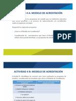 ACTIVIDAD 4. Modelo de Acreditación