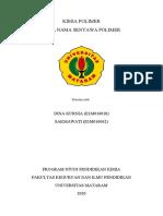 TATA NAMA SENYAWA POLIMER. KLP 10