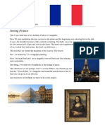 My holidays in Paris - Blog post