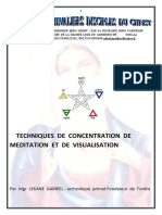 Technique de Meditation Et de Visualisation