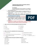 ACTIVIDADES EDUCATIVAS 3º ESO PENDIENTE