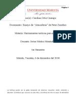 ENSAYO DE ATMOSFERAS