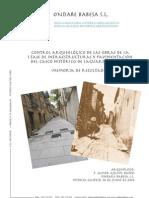 Control Arqueológico de las obras de la I Fase de Infraestructuras y Pavimentación del Casco Histórico de Laguardia (Álava). Memoria de Resultados