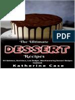 The Ultimate Dessert Recipes 101 Recipies