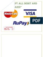 Credit Card Charges Format