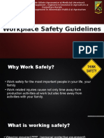 Presenting Safety Measures