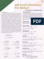 Electrical Fault Level Calculation Using MVA Method