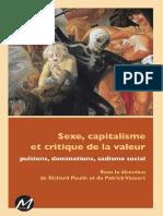 Sexe, Capitalisme Et Critique de Valeur - Jappe, Kurz, Scholz Etc.