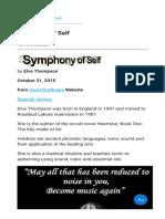Symphony of Self