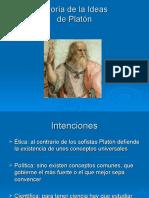 Platón R.2 Teoría de las Ideas