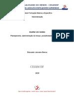 Planejamento, administração do tempo, produtividade e organização no trabalho Introdução ao secretariado executiv.docx
