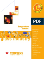 Temperature sensors for glass industries by tempsens