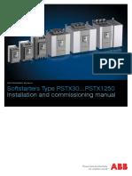 ABB PSTX installation & commissioning  manual