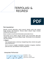 8. INTERPOLASI & REGRESI.pptx