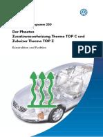 SSP #280 - Der Phaeton - Zusatzwasserheizung Thermo TOP C und Zuheizer Thermo TOP Z