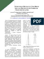 Breve estudo sobre Corrosão em Torres de Telecomunicações - Artigo Publicado na Revista do UNIBH em 2009