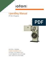 Kinoton FP30A Operating Manual