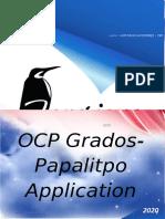 OCP GRADOS APPLICATION