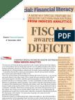Fiscal Awareness Deficit