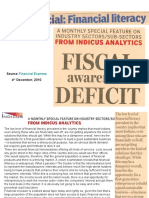 Fiscal Awareness Deficit