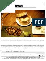 Pato pekinés con crepes mandarines - Diario de Gastronomía_ Cocina, vino, gastronomía y recetas gourmet