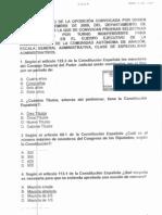 Examen Auxiliares Administrativos Discapacitados Aragon DGA 12 2010