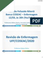 1ª Revisão de Enfermagem para a FeSaúde de Niterói (CoseacUFF) (1)