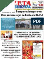 JORNAL GAZETA - EDIÇÃO 91 - DEZEMBRO DE 2010 - UNAÍ-MG