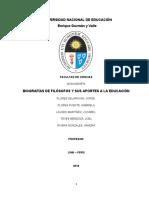 ETICA EDUCACION