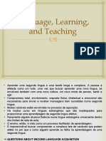 Language, Learning and Teaching