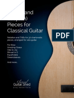 Guitar-Favorites-wTABs-ClassicalGuitarShed