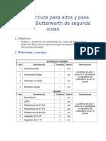 filtros activos butterworth